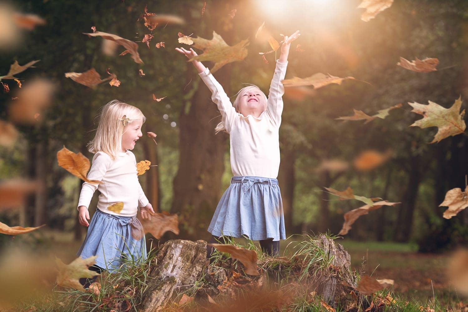 Gift vouchers autumn photoshoot Nic Bisseker Photography East Grinstead