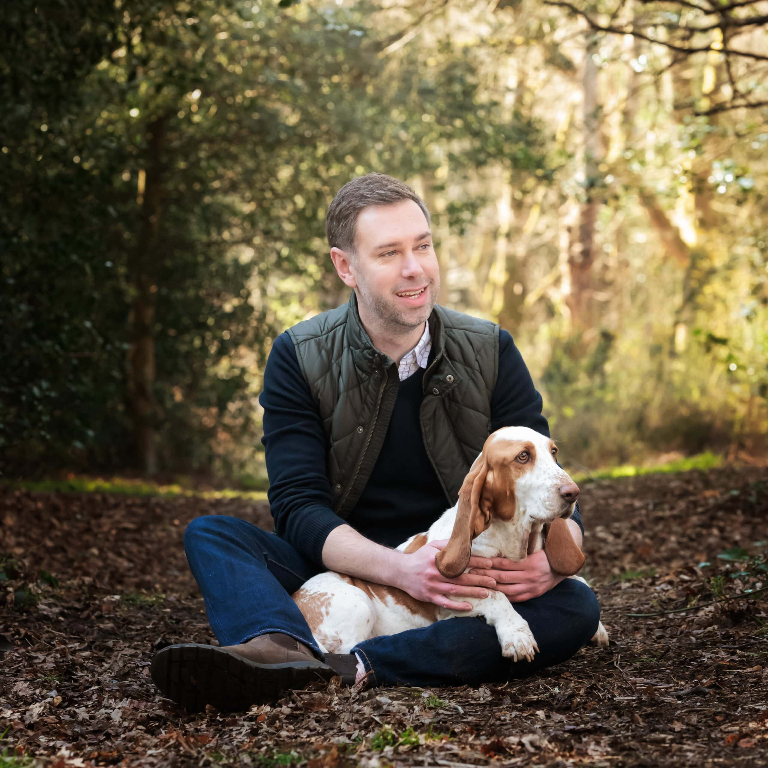 Nic Bisseker Photography Dog photoshoot East Grinstead fathers day