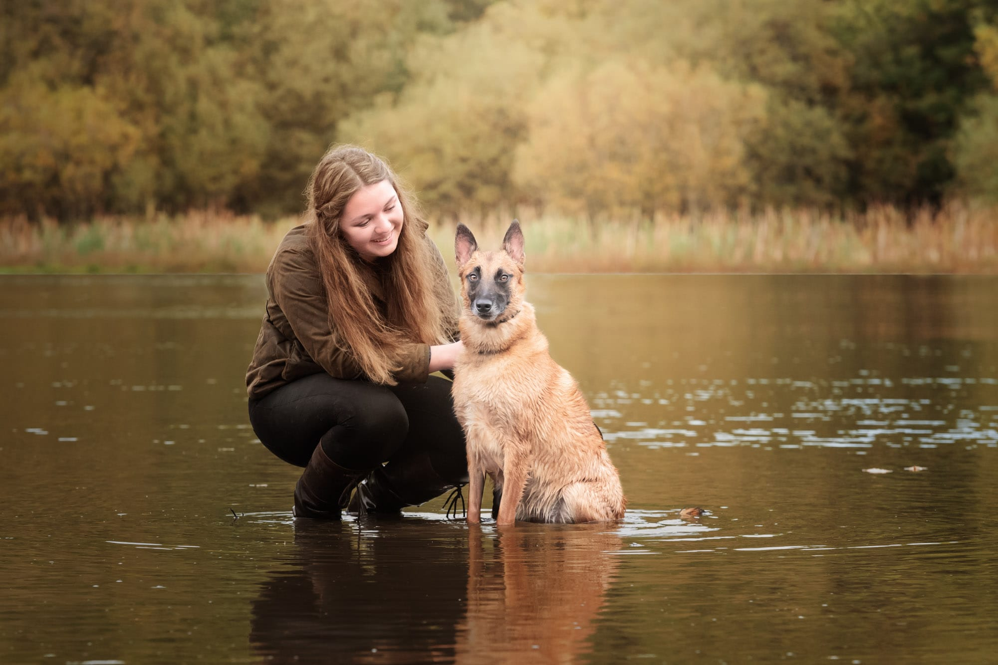 Nic Bisseker Photography Malinois rescue Dog photoshoot Surrey
